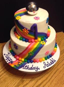 Rainbow 3 tiered